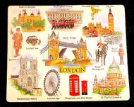 London mouse mat