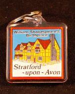 Shakespeare's Birthplace acrylic keyring