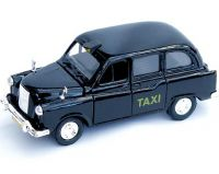 Diecast black London taxi