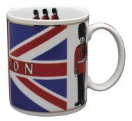 Union jack/queens guard mug