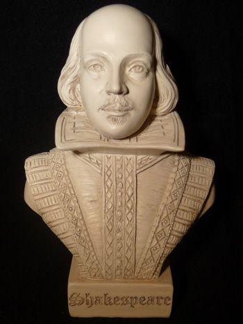 William Shakespeare bust