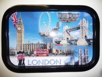 London tin tray