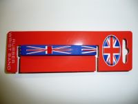 Union jack rubber wristband